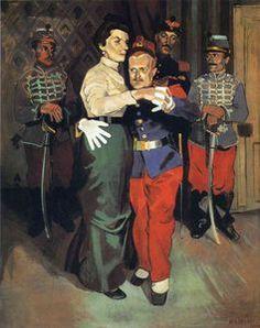 ball des soldats dans `suresnes` - (André Derain)