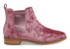 A rock'n'roll velvet boot for kickin' butt and taking names.