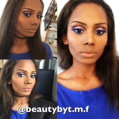 Blue eyeliner NYX 😀 follow on Instagram: @beautybyt.m.f