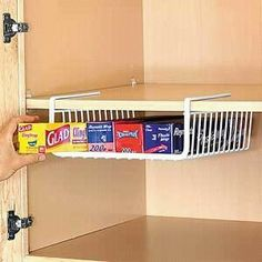 i so need this idea so that i can have a free drawer in my little kitchen apartment