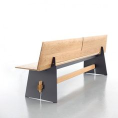 Conmoto, TENSION WOOD, Outdoor Bank. Garten