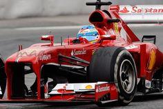 Fernando Alonso prueba a fondo su F138 2013 http://www.magazinespain.com/fernando-alonso-rueda-por-primera-vez-con-el-f138/