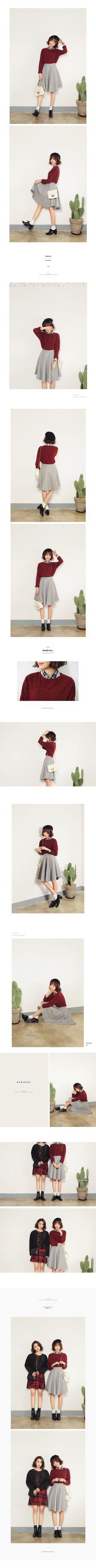 *MONOMORI-モノモリ-/AW*ダークカラーミディフレアスカート・全3色スカートスカート|レディースファッション通販 DHOLICディーホリック [ファストファッション 水着 ワンピース]