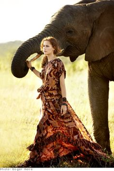 Safari Fashions - How to Wear African Patterns and Prints - Oprah.com