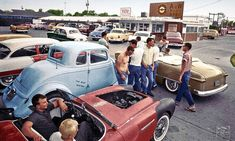 Vintage Cars A Selection of Outstanding Images from Imbued With Hues - Vintage Cars, Vintage Photos, Vintage Room, Vintage Ideas, Vintage Trends, Funny Vintage, Old Hot Rods, Traditional Hot Rod, Kustom Kulture