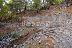 Know more about the village of Uzumlu Turkey and remains of Lycian Cadianda Fethiye. Roman Theatre, Attraction, Theater, City Photo, Places To Visit, Turkey, Explore, Teatro, Peru