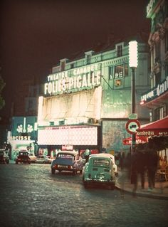 Pigalle 1965...Inspiration for your Paris vacation from Paris Deluxe Rentals
