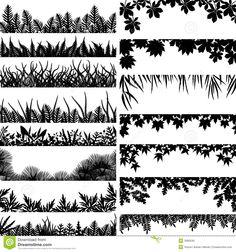tree border - Google Search