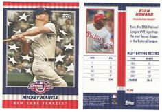 2008 Topps Opening Day Flapper Cards - PHILADELPHIA PHILLIES by Opening Day. $3.50. 2008 Topps Opening Day Flapper Cards - PHILLIES  RH Ryan Howard  ** This team set has only the one card. **   ** You will receive the cards listed in the description ** ** Picture are stock photos to show an example of what the cards look like. **Scans of specific cards are available on request  I have the largest selection of Baseball Card Team Sets on the Internet. I have broken over 2,200 s...