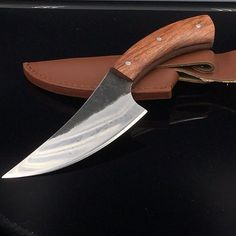 """HOT PRICES FROM ALI - Buy """"sharp High-carbon steel Hand made fixed hunting knife Rosewood handle survival camping tactical rescue knife"""" from category """"Tools"""" for only USD. Cool Knives, Knives And Swords, Rescue Knife, Trench Knife, Best Pocket Knife, Pocket Knives, Knife Handles, Handmade Knives, Knife Sharpening"""