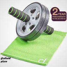 Ab Roller Abdominal Exercise Wheel Training Ab Toning Roller Aps Wheel+Knee Pad, http://goo.gl/wU9IXi