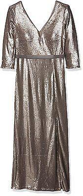 14, Gold, Little Mistress Women's L5300d1a Dress NEW