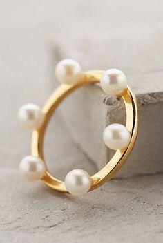 Pearl Diadem Ring