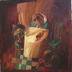 Artista ucraniano Alexander Antonyuk - Another world