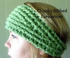 Oodles4Noodles: Chunky Ribbed Earwarmer ~ Free Pattern