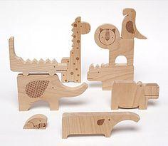 Zoo Safari Wooden Jumble Puzzle