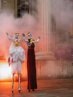 Contrary to the name, Dia de los Muertos is actually a celebration of life. Festivities include music, fireworks, parades, and above all else, love.