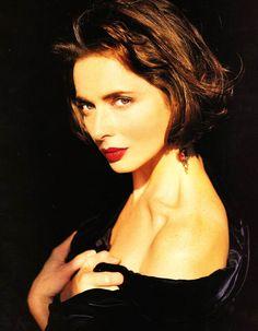 """Forever Isabella…"", VOGUE UK, December 1991 Photographer: Sante D'Orazio Model: Isabella Rossellini"