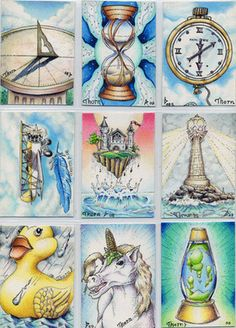 Fantasy Art ~ for ATCs  (I have a few of this guys cards from years ago trading and they are amazing!! His art is fantastic!