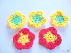 How to crochet  Flowers Easy for Beginner