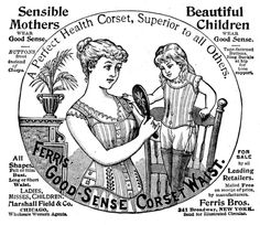 Steam Ingenious: Corset Myth #3: Corsets Are Bad For Your Health    Truth behind victorian corseting to make a woman more beautiful. Corsetting was a common practice during the time and someone such as porphyria would have had to do this from a young age.