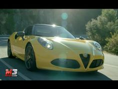 NEW #ALFA ROMEO 4C SPIDER 2015 - FiRST TEST DRIVE