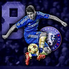 Soccer Buddies Chelsea Official Licensed PVC Football Keyring Fernando Torres