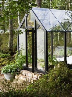 modern greenhouse | ... contemporary greenhouse, Installing A Greenhouse and contemporary
