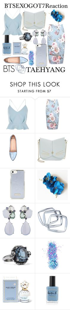 """""""Untitled #79"""" by leracat16 ❤ liked on Polyvore featuring River Island, Boohoo, Mollini, Ted Baker, GUESS by Marciano, Alexander McQueen, In Your Dreams, Marc Jacobs and Lauren B. Beauty"""