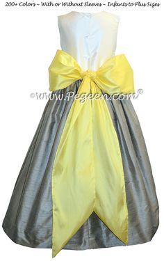 Blue indigo and saffron yellow flower girl dresses blue flower blue indigo and saffron yellow flower girl dresses blue flower girl dresses by pegeen pinterest flower girl dresses girls dresses and blue flower mightylinksfo