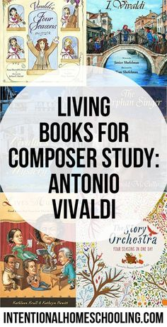 Living Books for Composer Study: Antonio Vivaldi Music Lessons For Kids, Music For Kids, Piano Lessons, The Lone Ranger, Books For Boys, Best Books To Read, Music Education, Preschool Education, Physical Education