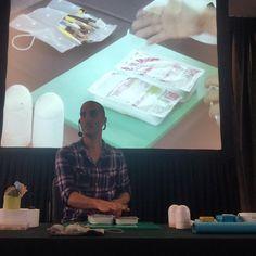 #CarlosLischetti presentando el primer libro ANIMACIÓN EN AZÚCAR y clase demostrativa en #Rosario, #Argentina | #HotelSavoy  #arteenazucar #sugarart #animationinsugar #animacionenazucar #sugarcraft #demonstrationclass
