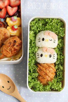 Hello Kitty Ice Cream Bento | Bento Monsters