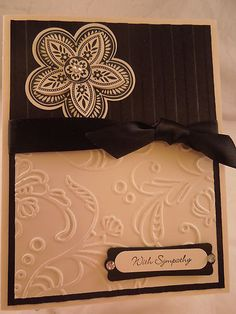 stampin up Triple Treat Flower