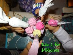 How To Make A Doll Sized Icing Bag