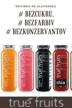 Skutočné smoothies ktoré si môžete vychutnať v sklenených fľašiach zo skutočného ovocia.