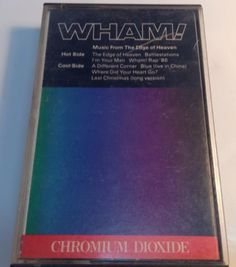 WHAM! Tape cassette  MUSIC FROM THE EDGE OF HEAVEN 1986 cbs Records Canada