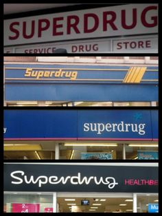 Superdrug through the years #superdrug50