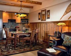 Stunning kitchen at The Whiteface Lodge (Lake Placid, NY) - ResortsandLodges.com #Travel #vacation #NewYork