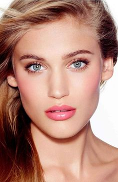 charlotte tilbury   the ingénue set @nordstrom. Simple blush, lip, and eye with minimal shadow.