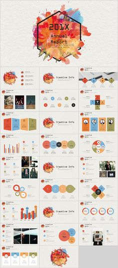 Business infographic & data visualisation Best annual multicolor creative PowerPoint template on Behance Infographic Description Simple Powerpoint Templates, Professional Powerpoint Templates, Ppt Design, Brochure Design, Keynote Design, Design Art, Business Presentation, Presentation Design, Layout Template