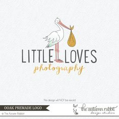 Premade Photography Logo and Watermark Design  by TheAutumnRabbit, $50.00