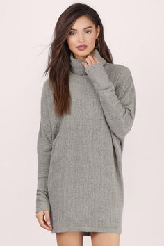 Open Back Turtleneck Sweater Dress | Charlotte Russe | The Dress ...