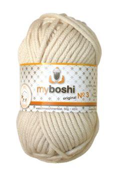 Myboshi No.3 392 elfenbein 100% Merinowolle 4,95 €