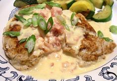 low carb QUESO CHICKEN - 4 net carbs per meal - ditch the mayo for the love of all that is holy!!