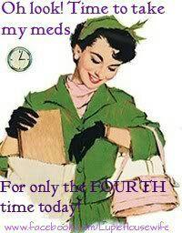 Time to take my meds! #lupusmedication