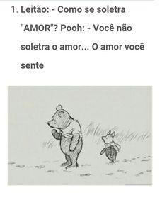 O amor você sente