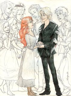 Hair Raising (Howl's Moving Castle) by *burdge-bug, usually I would pin this is anime but this is more of a reference to the book Scorpius And Rose, Howl And Sophie, Desenhos Harry Potter, Studio Ghibli Movies, Howls Moving Castle, Hair Raising, Hayao Miyazaki, The Book, Book Art