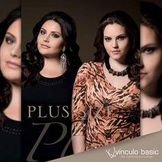 A Vínculo Basic abraça a diversidade de biotipos e tem uma linha incrível com roupas Plus Size para você valorizar sua beleza e estar em sintonia com a moda. Confira: http://www.vinculobasic.com.br/colecoes/