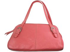 The handbag that started my addiction, a bright pink large Franco Sarto. I got it my junior year of HS lol